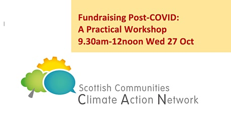 Fundraising Post-COVID: Practical Workshop 9.30am-12noon Wed 27 Oct online tickets