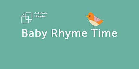 Baby Rhyme Time Online- Bendigo tickets