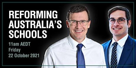 Reforming Australia's Schools tickets