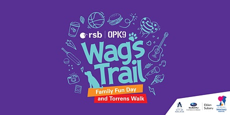 RSB Wags Trail - Family Fun Day and Torrens Walk tickets