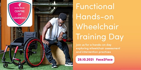 Functional Hands-on Wheelchair Training Day tickets