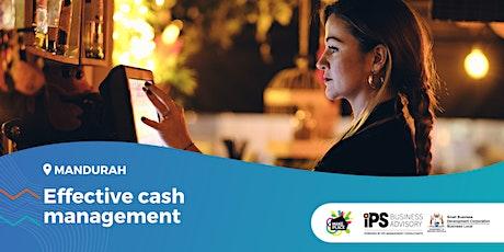 Effective cash management tickets