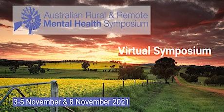 2021 Australian Rural & Remote Mental Health Symposium tickets