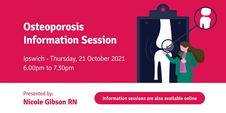 Osteoporosis Information Session tickets