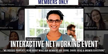 Interactive Networking Event tickets