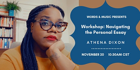 Workshop: Navigating the Personal Essay tickets