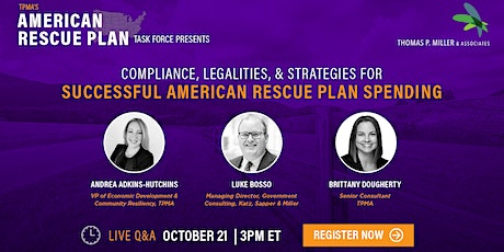 Compliance, Legalities, & Strategies for Successful ARPA Spending tickets