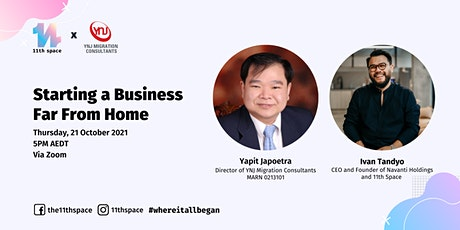11th Talks Ep. 12: Starting a Business Far From Home Tickets