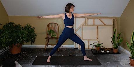 Vinyasa Flow Live-Stream Yoga Class tickets