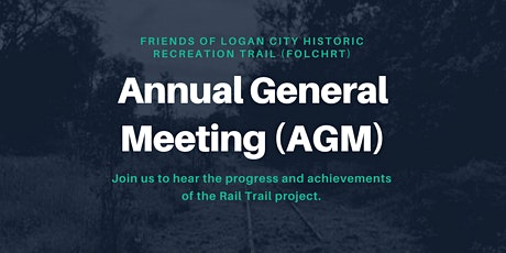 Rail Trail (FoLCHRT) Annual General Meeting (AGM) tickets