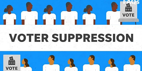 Challenging Racism Continued - Voting Rights: Update on Voting Suppression tickets