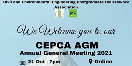 CEPCA Annual General Meeting (AGM) 2021 tickets