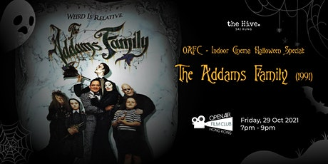 OAFC - Indoor Cinema Halloween Special: The Addams Family (1991) tickets