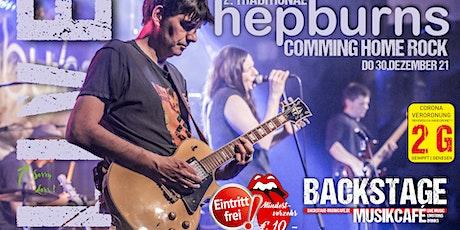 2 . traditional HEPBURNS comming home rock Tickets