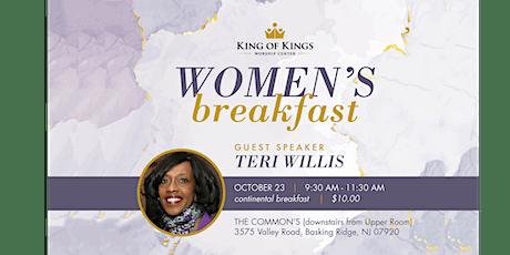 Women's Breakfast  Guest Speaker Teri Willis tickets