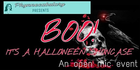 Phynnecabulary Presents: Boo! It's a Halloween Showcase! tickets