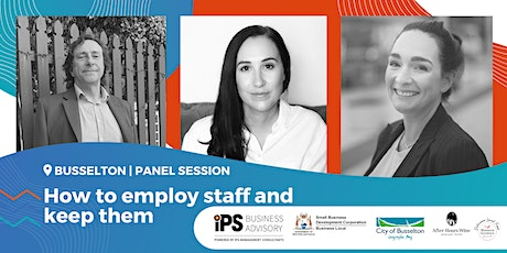 How to employ staff and keep them | Panel Session tickets