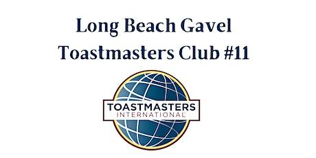Long Beach Gavel Toastmasters Club #11 Weekly Meeting tickets