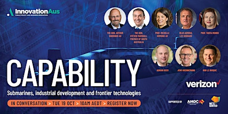 Capability - Submarines, industrial development and frontier technologies tickets