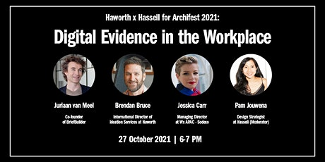 Digital Evidence in The Workplace   Live Event tickets