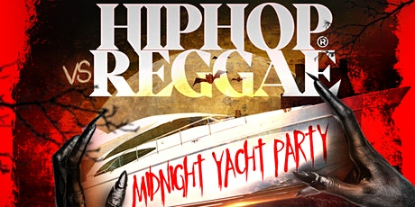 Halloween Hip Hop Vs Reggae Midnight Cruise At Jewel Yacht tickets