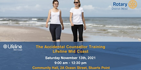 The Accidental Counsellor Training tickets