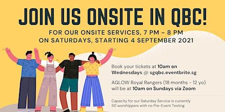 English Saturday Service (23 Oct) tickets