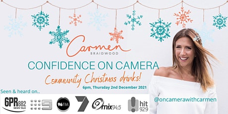 Confidence on Camera Christmas Drinks tickets
