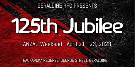 Geraldine Rugby Club - Jubilee 2023 tickets