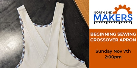 Beginning sewing-Crossover apron tickets