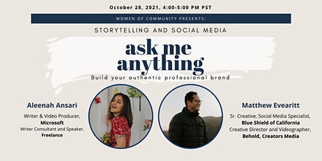 Ask Me Anything: Storytelling and Social Media tickets