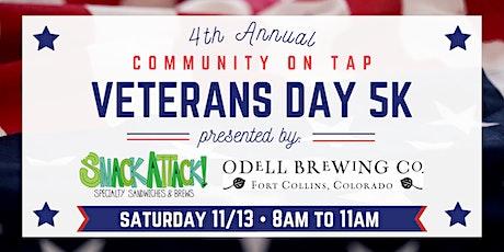 CommUNITY on Tap Veterans Day 5K tickets
