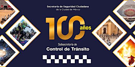 100 años de la Policía de Tránsito de la CDMX boletos