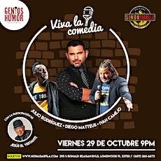 Diego Mateus en Orlando - Viva la Comedia tickets