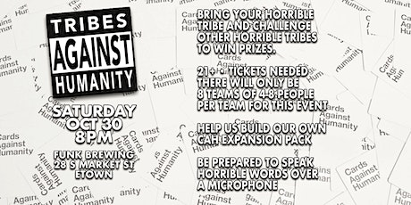 Cards Against Humanity tickets