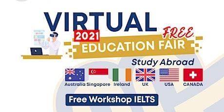VIRTUAL EDUCATION FAIR 2021, 5 & 6 NOVEMBER 2021 tickets