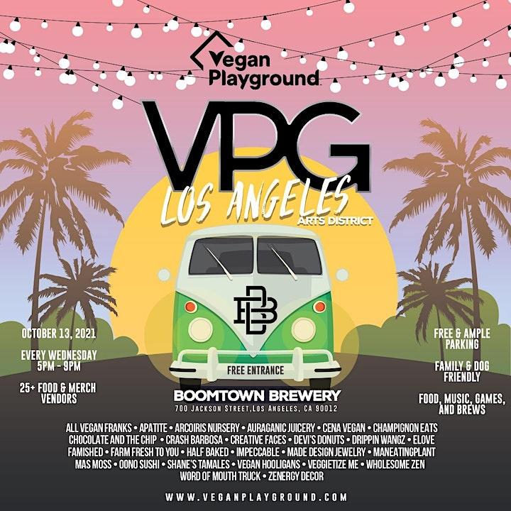 Vegan Playground LA Arts District - Boomtown Brewery - October 13, 2021 image