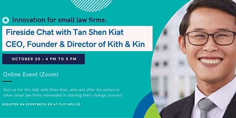 Innovation for Small Law Firms: Fireside Chat with Kith & Kin tickets