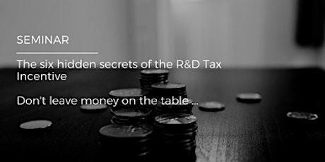 Softlogic Solutions - Hidden Secret of the R&D Tax Incentive Tickets