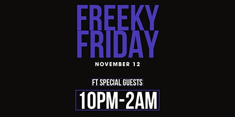 FREEky Friday tickets