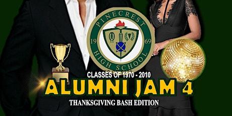 Pinecrest High Alumni Jam 4 - Thanksgiving Bash Edition tickets
