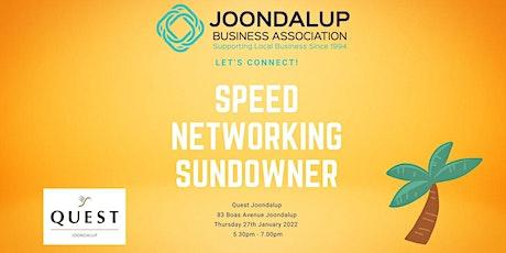 Speed Networking Sundowner  - Quest Joondalup tickets