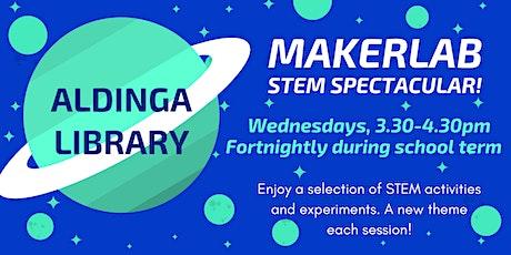 MakerLab: STEM Spectacular!- Aldinga Library tickets