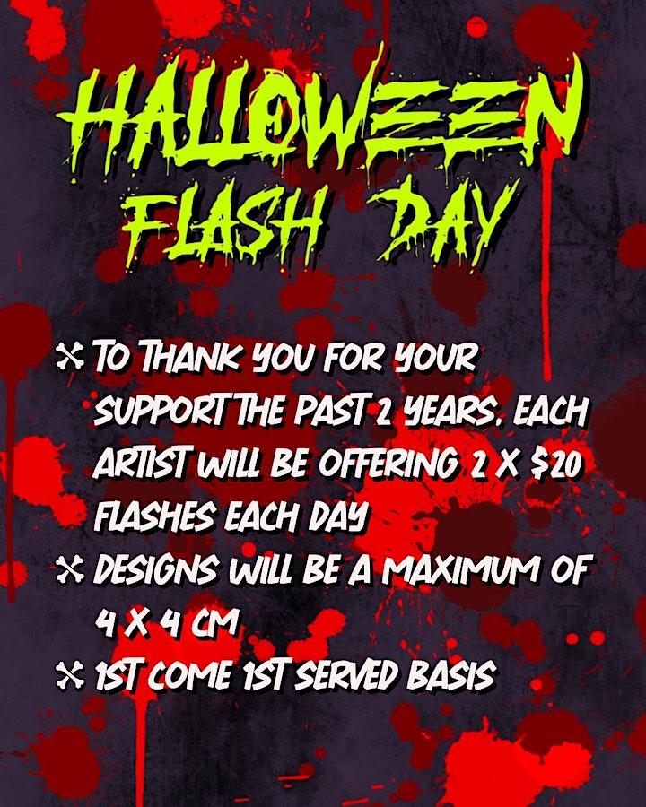Black Dot Tattoos' Halloween Flash Day image