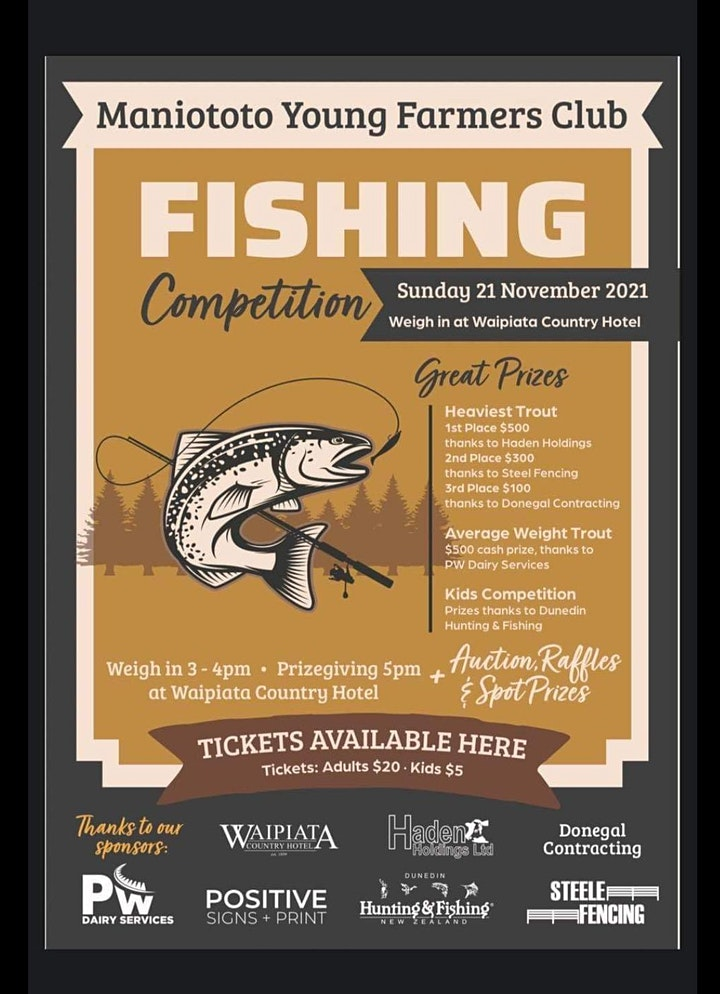 Maniototo Young Farmers Fishing Competition image