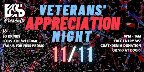 Veterans' Appreciation Night tickets