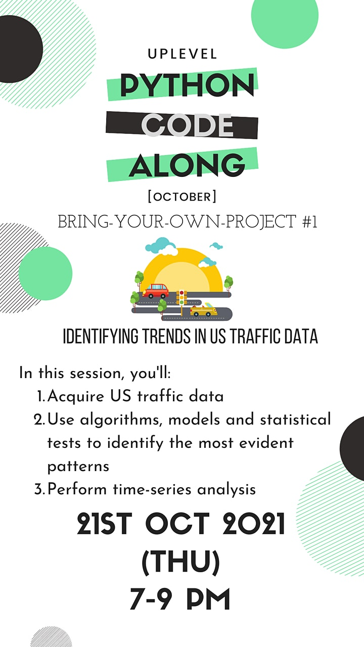 Code-Along #7: Identifying Trends in US Traffic Data image