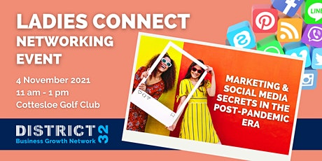District32 Ladies Business Networking - Marketing & Social Media - 04 Nov tickets