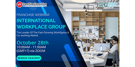 [Webinar] Why You Should Invest in the Co-Working Market Now? tickets