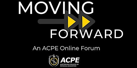 Moving Forward - An ACPE Online Forum tickets